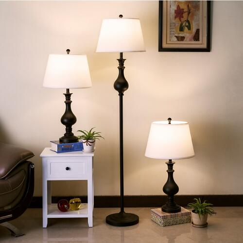 Daya 2pc Tbl Lamp 1p