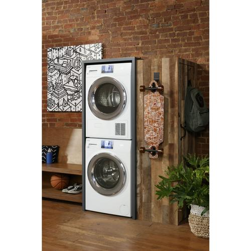 Haier - 2.4 Cu. Ft. Smart Frontload Washer