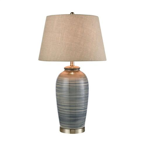 Stein World - Monterey Table Lamp In Blue