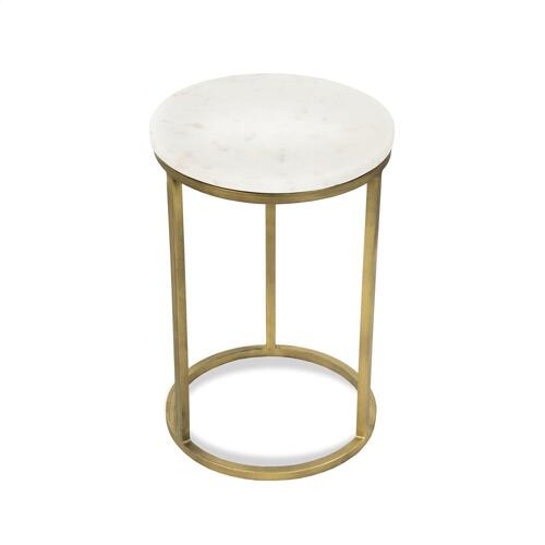 Nesting Side Table Tops - Brushed Brass Finish