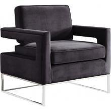 """See Details - Noah Velvet Accent Chair - 33"""" W x 29"""" D x 35"""" H"""
