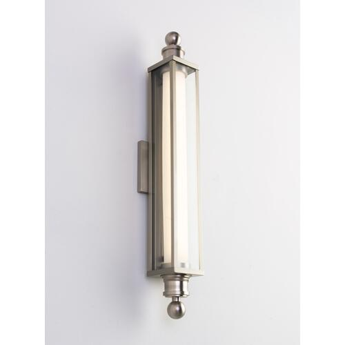 LED CHARTER SCONCE - BRUSHED NICKEL