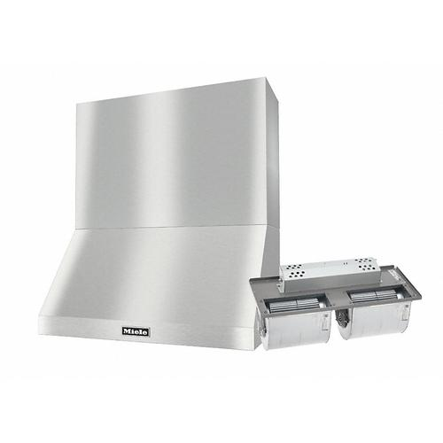 "DAR 1230 Set 17 Wall-Mounted Range Hood with Extraction Mode with integrated XXL motor including 24"" chimney cover."