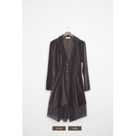 WB Long Cord/Lace Jacket - XXL (2 pc. ppk.)