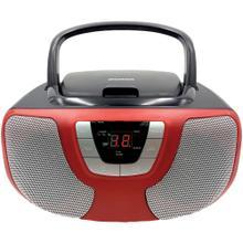 See Details - Portable CD Radio Boom Box (Red)