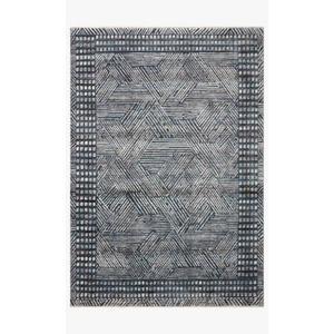 Gallery - MEL-01 ED Denim / Silver Rug