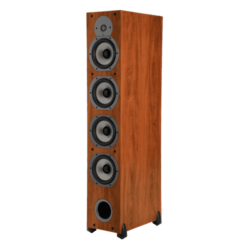 Four-Way Ported Floorstanding Loudspeaker in Cherry