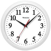 "10"" Basic Wall Clock (White)"