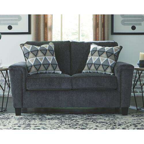 Abinger Loveseat By Ashley in Smoke Blue 8390535