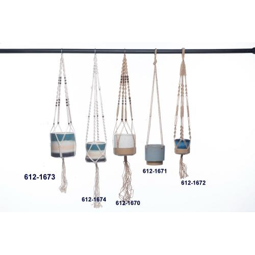 Small Fuselage Hanging Planter (Min 4 pcs)
