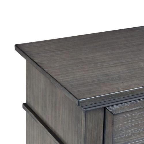 Amberleigh 5-Drawer Chest, Grey