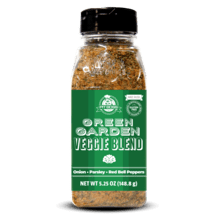 5.25 oz Green Garden Veggie Blend Rub