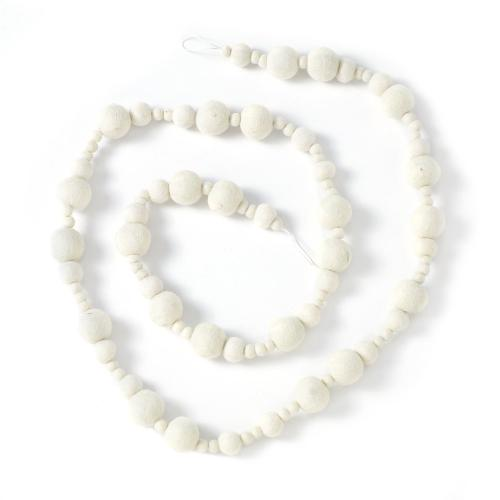 6' White Candy Garland (Multi-Size Option)