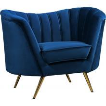"Margo Velvet Chair - 43"" W x 30"" D x 33"" H"