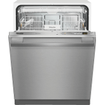 MieleMiele G 4977 SCVi SF AM - Fully-integrated, full-size dishwasher with hidden control panel, cutlery tray and CleanTouch Steel panel