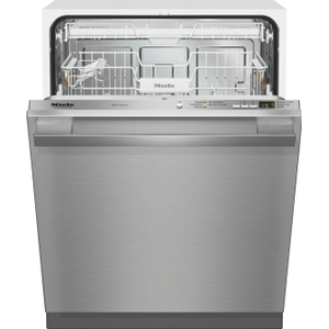 Fully-integrated, full-size dishwasher with hidden control panel, cutlery tray and CleanTouch Steel panel Product Image