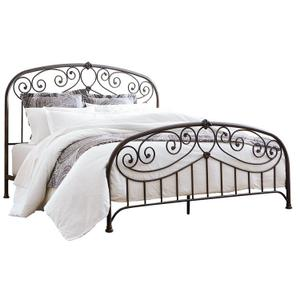 Lillian King Bed, Black