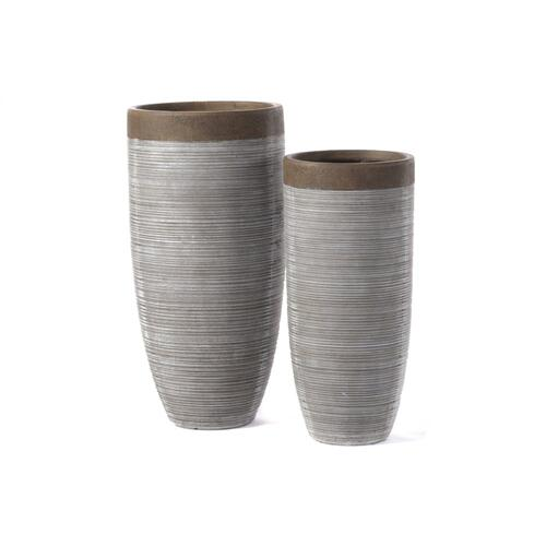 Victoria Tall Planter - Set of 2