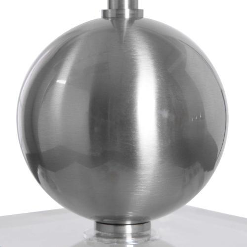 Laton Silver Buffet Lamp