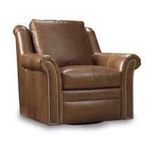 Newman Leather Swivel Chair