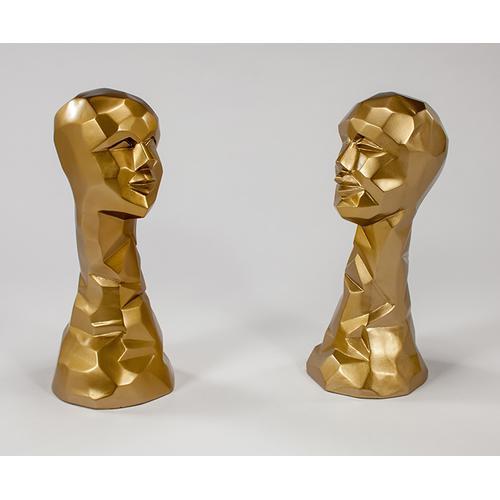 """Artmax - """"El"""" Gold 9.5x8.5x20"""""""