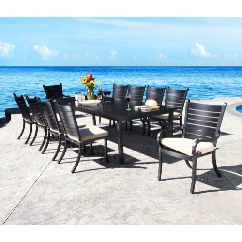 "Monaco 114"" x 46"" Rectangular Dining Table"