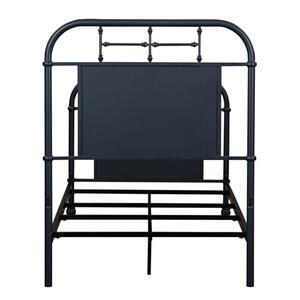 Twin Metal Headboard - Navy