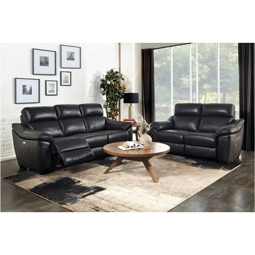 Renzo Power Sofa and Love Seat