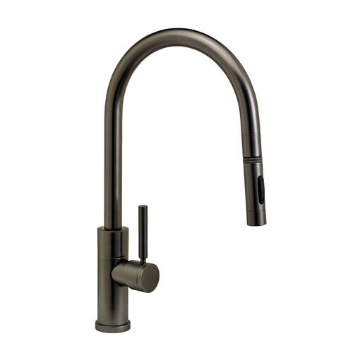 Modern PLP Pulldown Faucet - Angled Spout - 9460 - Waterstone Luxury Kitchen Faucets