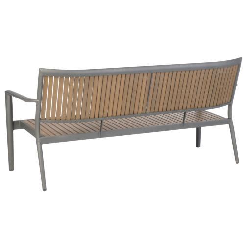 Penelope Aluminum / Polywood Deep Seating Sofa