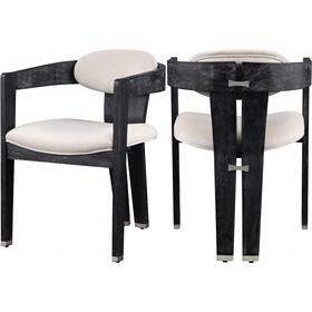 "Vantage Velvet Dining Chair - 22.5"" W x 23"" D x 31"" H"