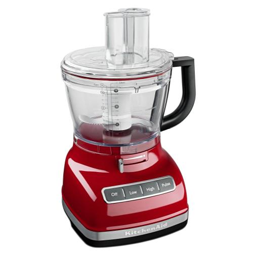 14-Cup Food Processor with Commercial-Style Dicing Kit - Empire Red