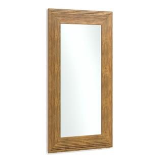 Louisa Crushed Bamboo Mirror