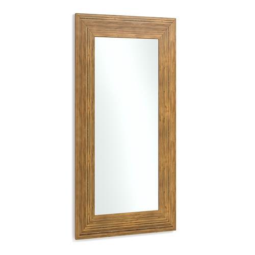 Louisa Crushed Bamboo Mirror