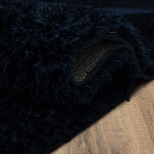 "Couture Shag Majolica Blue 18""x18"" Sample / Serge"