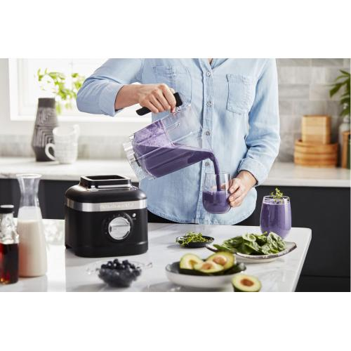 K400 Variable Speed Blender with Tamper - Black Matte
