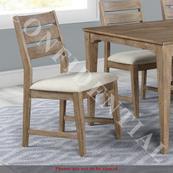 Slat Back Upholstered Side Chair (RTA)