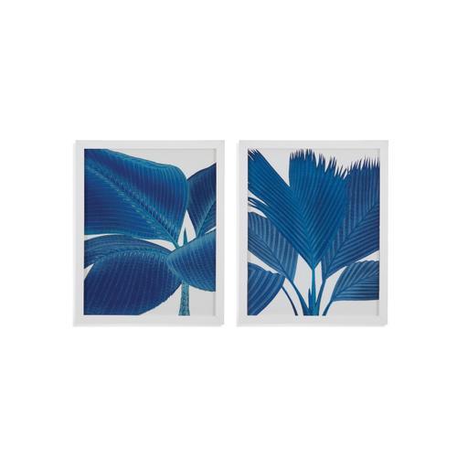 Bassett Mirror Company - 2 PC Palm in Blue
