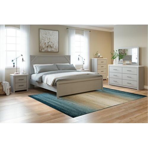 Cottonburg King Panel Bed