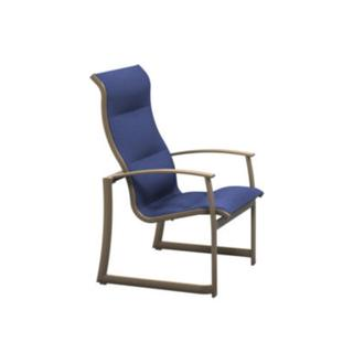 See Details - MainSail Padded Sling High Back Dining Chair