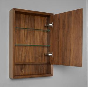 "m4 20"" Medicine Cabinet - right - Natural Walnut Product Image"