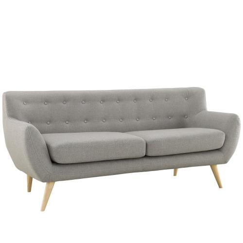Modway - Remark 2 Piece Living Room Set in Light Gray