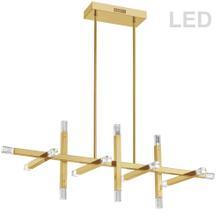 Product Image - 64w Horiz Chandelier, Agb W/ Acrylic Diffuser