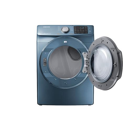 7.4 cu. ft. Gas Dryer in Azure Blue