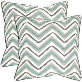 Elli Pillow - Green / White