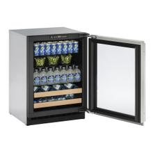 "24"" Beverage Center Integrated Frame Left-Hand Hinge"