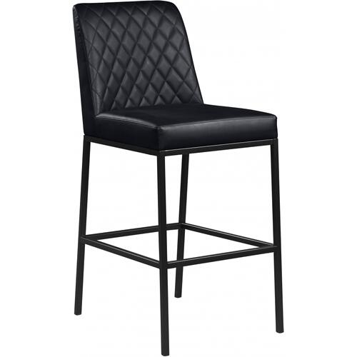 "Bryce Faux Leather Bar Stool - 18.5"" W x 22"" D x 42.5"" H"