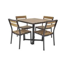 See Details - Asher Outdoor 4-Top Dining Set