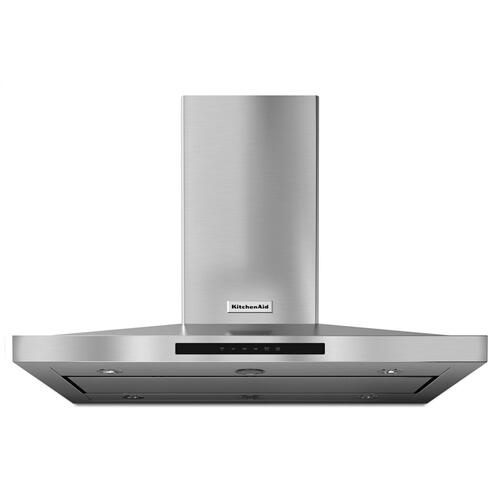 "42"" Island-Mount, 3-Speed Canopy Hood - Stainless Steel"