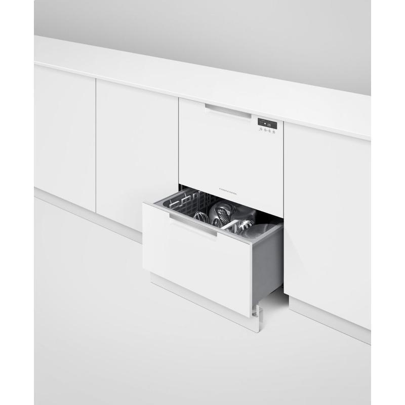Double DishDrawer Dishwasher, Tall, Sanitize